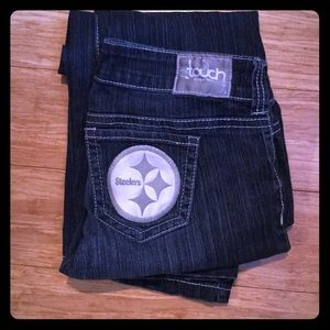 Touch by Alyssa Milano Steelers Jeans